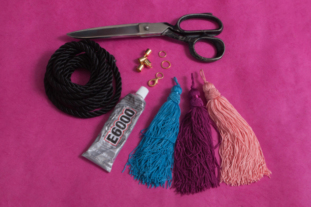M&J Trimming - Cord and Tassel Necklace DIY Materials